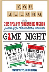 PTF Fundraising Auction Invitations are in the Mail