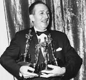Walt with awards