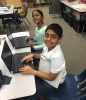 Typing our expositories, 4th grade