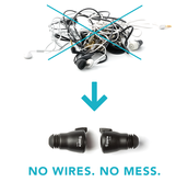 No wires. No mess.