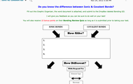 Types of Bonds Graphic Organizer Extra Learning Opportunity