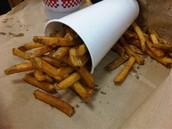 Five Guys' fries