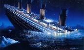 Titanics Ship Sinking ..
