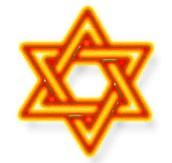 Star of David, the symbol of judaism