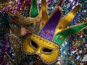 Attend a Mardi Gras party and try out a King's Cake