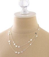 Alexia Necklace Silver