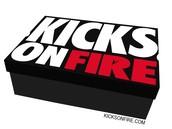 kicks on fire