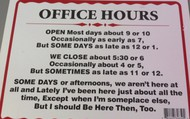 Working Schedule/ Working locations