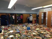 Book Drive Donations