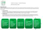 Teacher Benchmark Analysis Guide