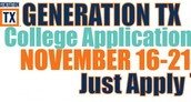 GenTX College Application Week