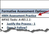 HMH Assessment Practice