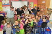 Dabbing with Guest Readers