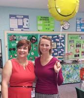 Ms. Heintzelman - Teacher of the Month