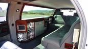 Interiors of Limousine