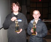 Jed (R) and Haven (L) - 1st and 2nd Place