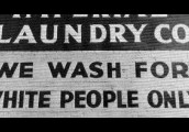 Laundry Mats for Whites only