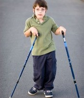 CP child with special canes