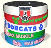 Custom Silicon Wristbands