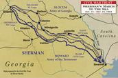 Sherman's March Path