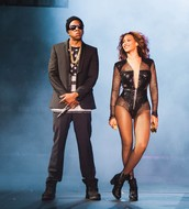 Jay-Z and Beyonce!