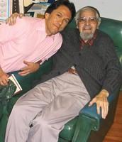 Mitch Albom and Albert