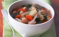 Chicken garbanzo bean soup