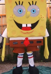 Be a part of the first day at Bikini Bottom Park