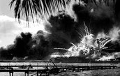 Bomb hits Pearl Harbor
