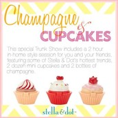 Cupcakes and champagne:)