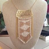 Avalon Fringe Necklace Was $89 Now $50