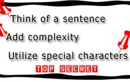 Think of a sentence