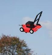 Red mower