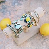 Stunning statement bracelets