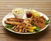 Our food has the best cajun food and seafood you will ever eat.