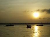 Ganges river