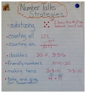 Number Talk Strategies for Addition