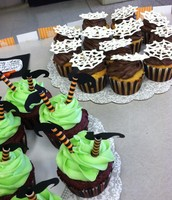 Green Paws Cupcake Sale