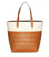 HUDSON TOTE MEDIUM - SADDLE $66 (55% off)