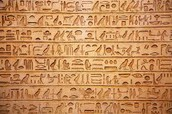 Other types of writing the Egyptians made.