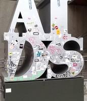 AIDS Sculpture.