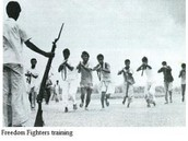 Freedom fighters training