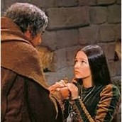 Friar Lawrence Giving Juliet the Potion