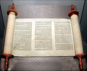 The Torah part of the Hebrew Holy Bible