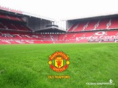 Old Trafford in Manchester.