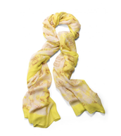 Palm Springs Scarf in Citrine Floral