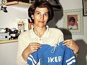 His mother - María Del Carmen