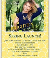 Spring Launch Invite