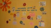 Информационный стенд. Фойе библиотеки