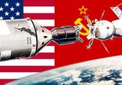 The Space Race between the U.S. and the Soviet Union